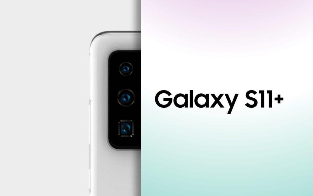 El modulo de cámaras del Samsung Galaxy S11+ se deja ver 1