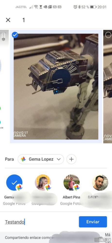 Google Fotos ahora cuenta con chat propio 5
