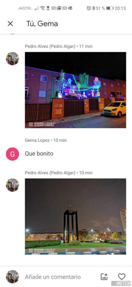 Google Fotos ahora cuenta con chat propio 3