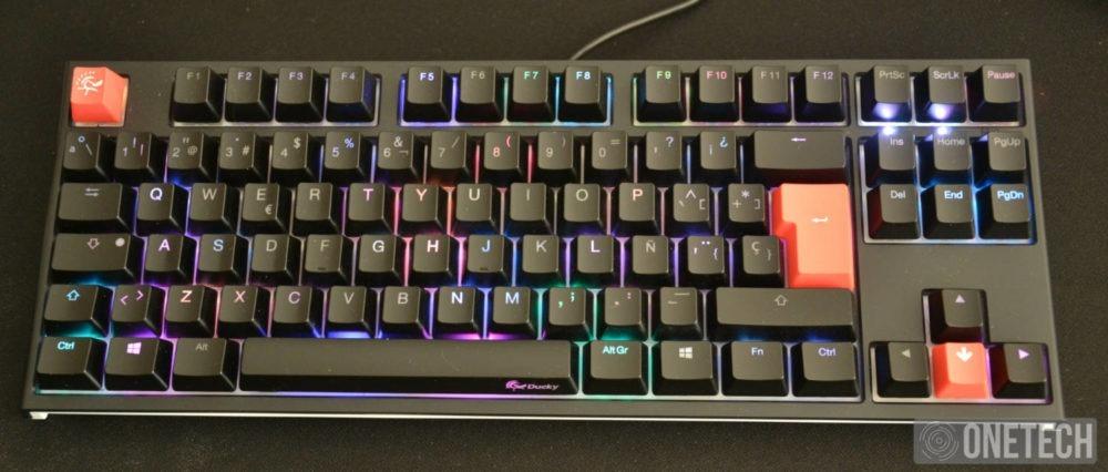 Ducky One 2 TKL RGB, probamos este teclado mecánico y te contamos la experiencia 7