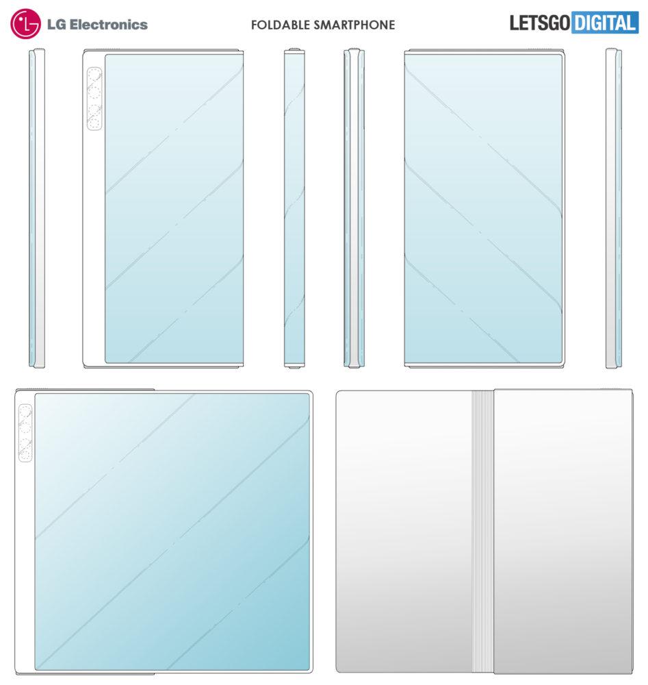 LG prepara su smartphone plegable y su diseño nos es familiar 2