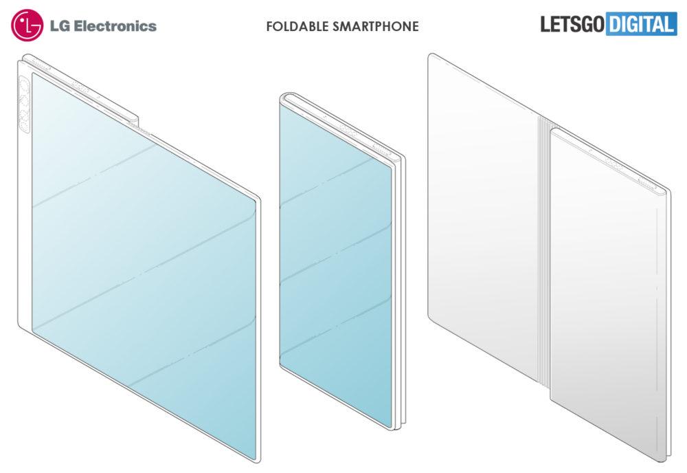 LG prepara su smartphone plegable y su diseño nos es familiar 3
