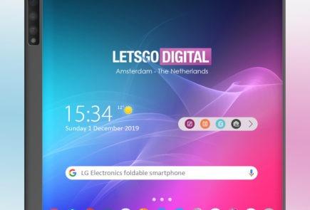 LG prepara su smartphone plegable y su diseño nos es familiar 1