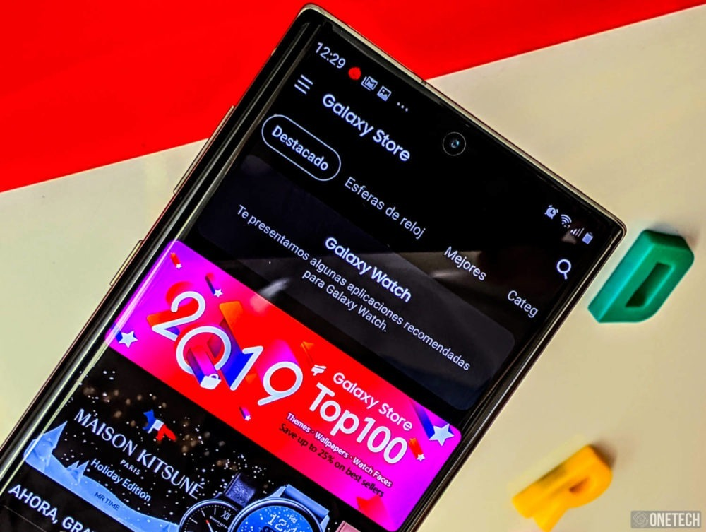 La Samsung Galaxy Store mejora su interfaz con soporte para el tema oscuro