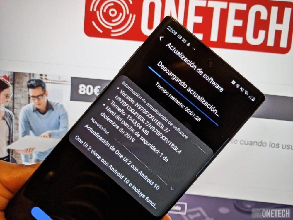 Android 10 llega a los Samsung Galaxy Note 10 en España y estas son todas sus novedades