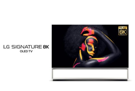 LG anuncia sus televisores con resolución 8K