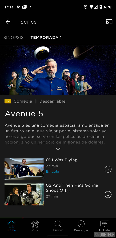 Descargar películas en HBO