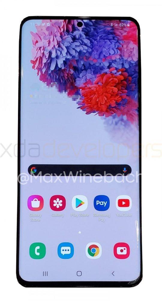 Primeras imágenes reales del Samsung Galaxy S20+ 5G 1