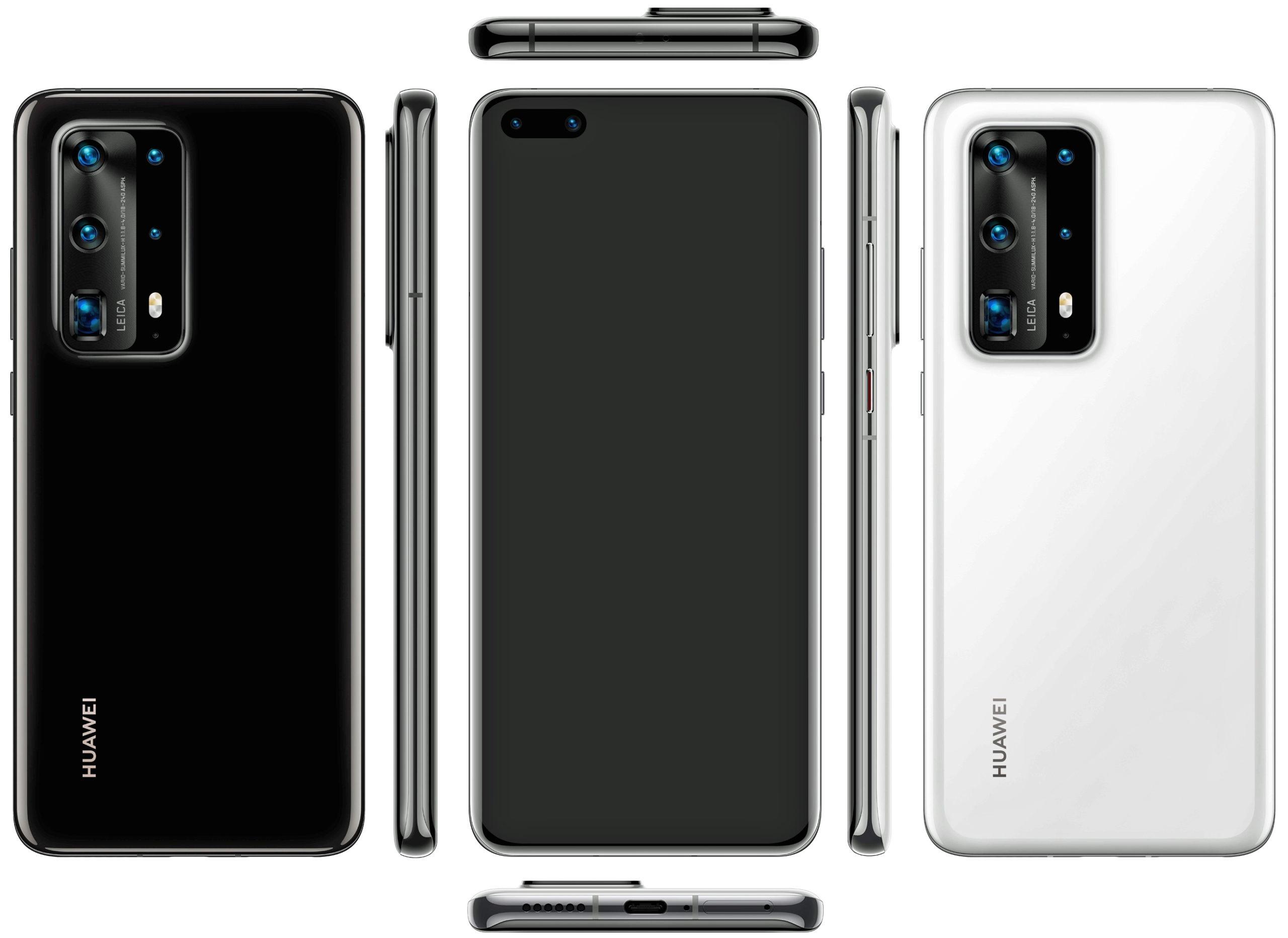 Evan Blass nos acerca el Huawei P40 Pro con nuevos renders