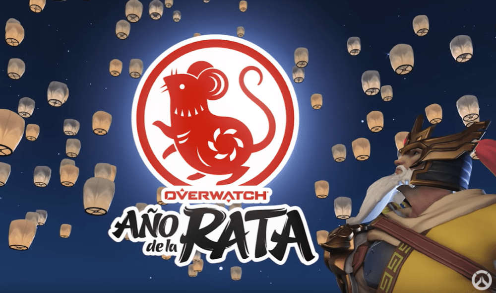 Blizzard celebra el año de la rata con nuevo contenido para Overwatch