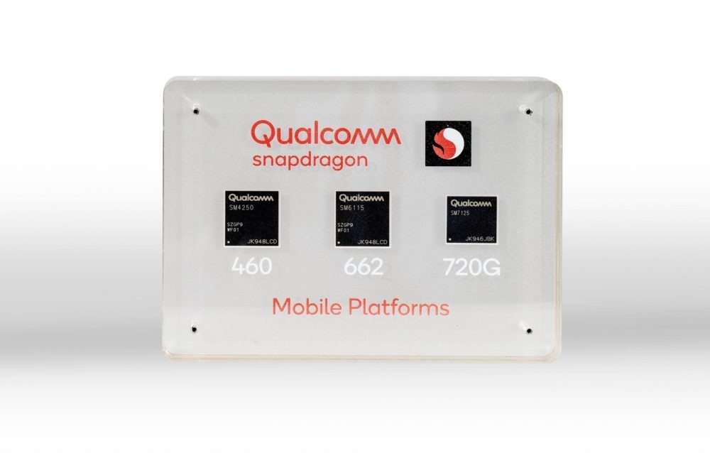 Snapdragon 720G, 662 y 460