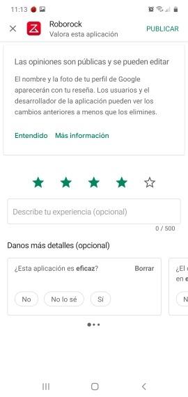 Así funciona el nuevo apartado de reseñas en la Google Play 4