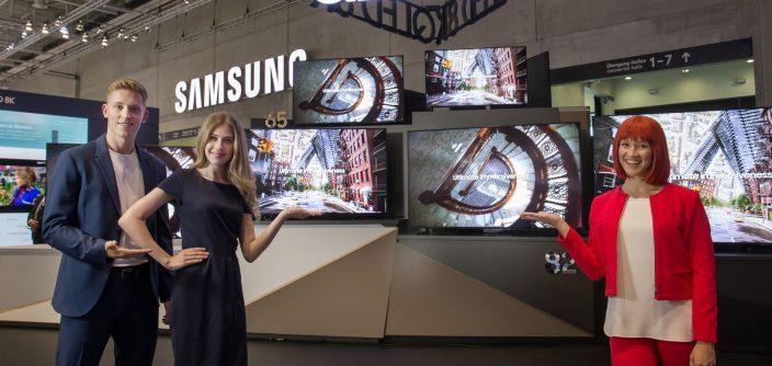 Samsung impulsa la certificación global de televisores 8K