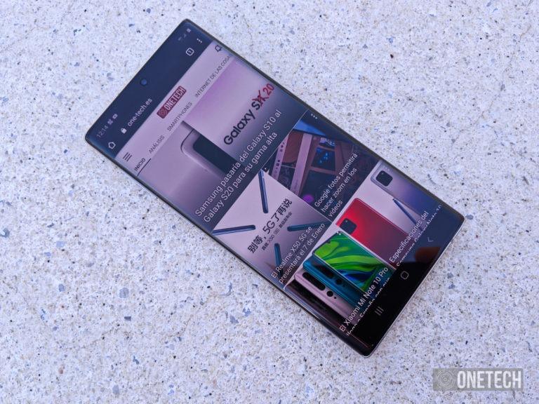 Samsung Galaxy Note 10, análisis de la nueva entrega de la saga 26
