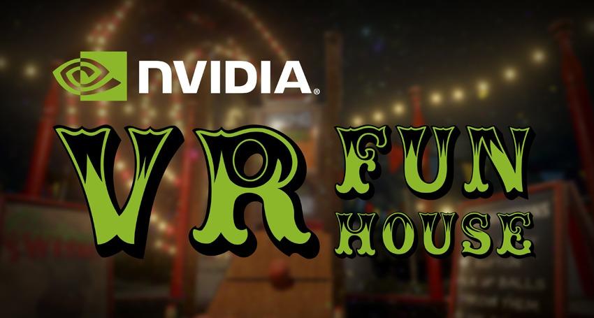 NVIDIA VR Funhouse ya está disponible en Steam para HTC Vive