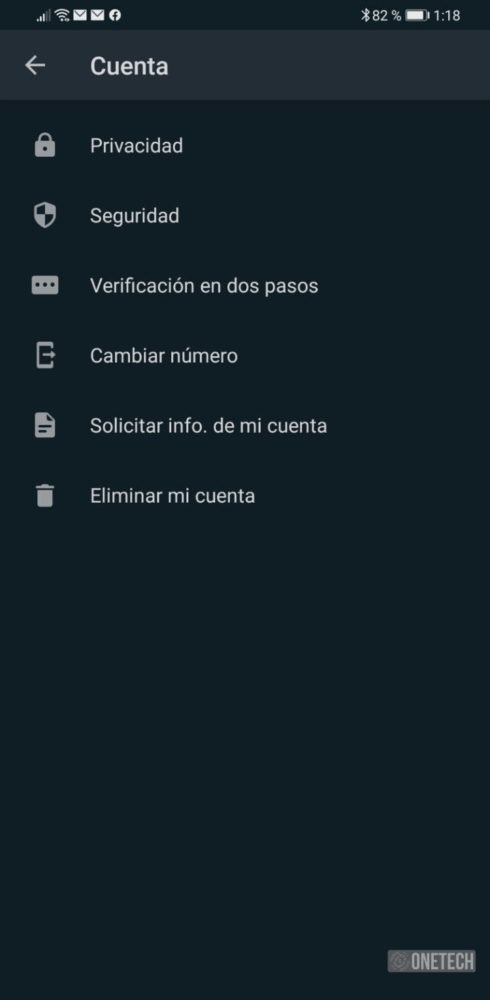 WhatsApp se actualiza y añade el modo oscuro en Android 3