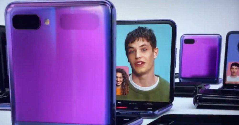 Samsung publicita el Galaxy Z Flip durante los Oscar