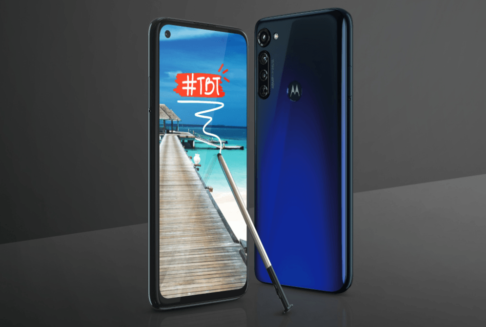Motorola ya tiene su terminal con lápiz, llega el Moto G Stylus