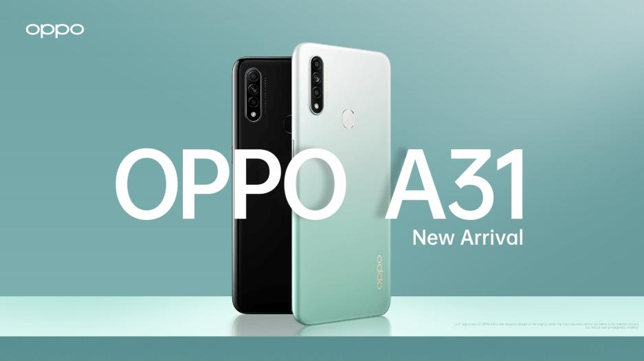 OPPO A31: especificaciones, disponibilidad y precio
