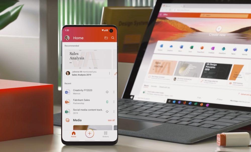 La nueva App de Office
