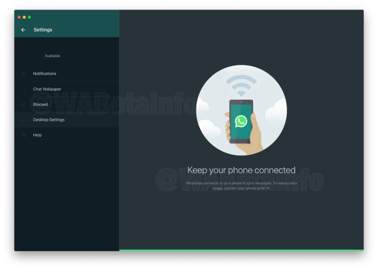 El modo oscuro de WhatsApp llegará a las versiones Web y de escritorio 3