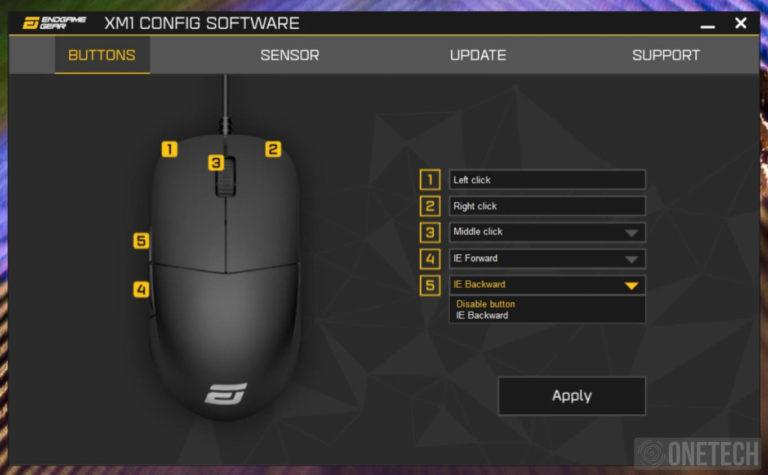 EndGame Gear XM1 V2, un ratón gamer sin complicaciones - Análisis 9