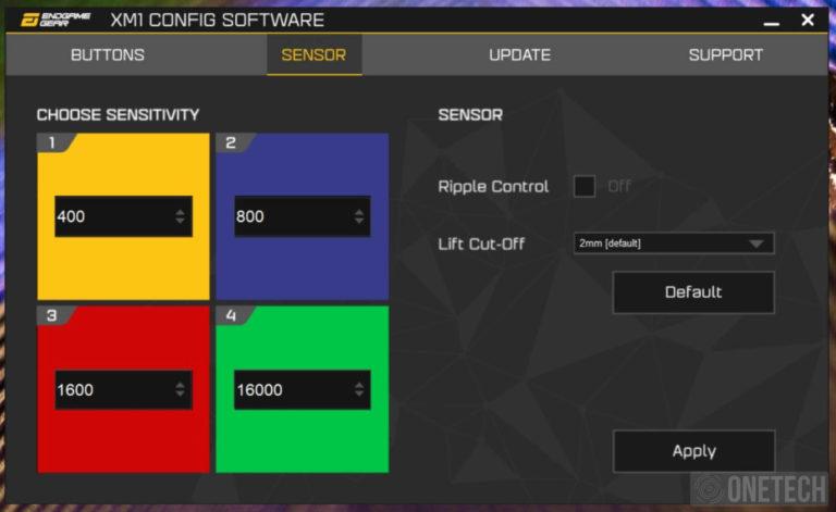 EndGame Gear XM1 V2, un ratón gamer sin complicaciones - Análisis 8