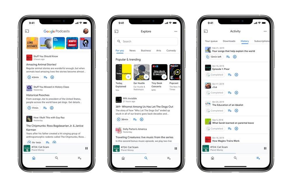 Google Podcasts llega finalmente a iOS 1