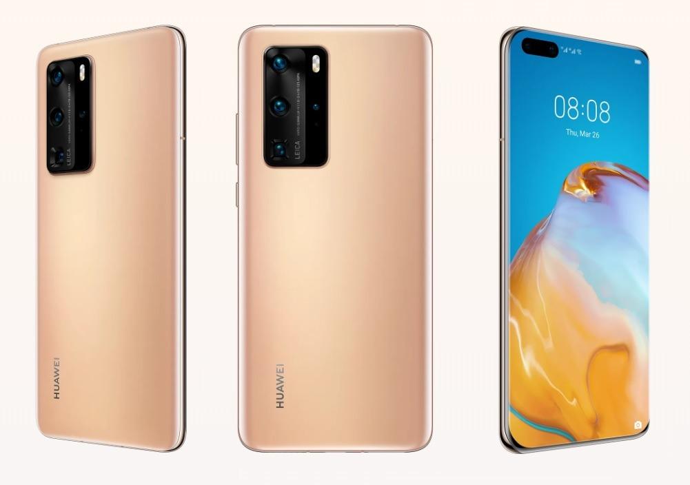 Huawei P40 Pro y Huawei P40 Pro+
