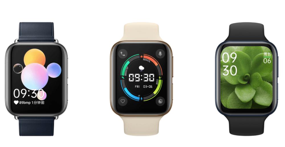 OPPO Watch llega poniendo en la diana al Apple Watch 1