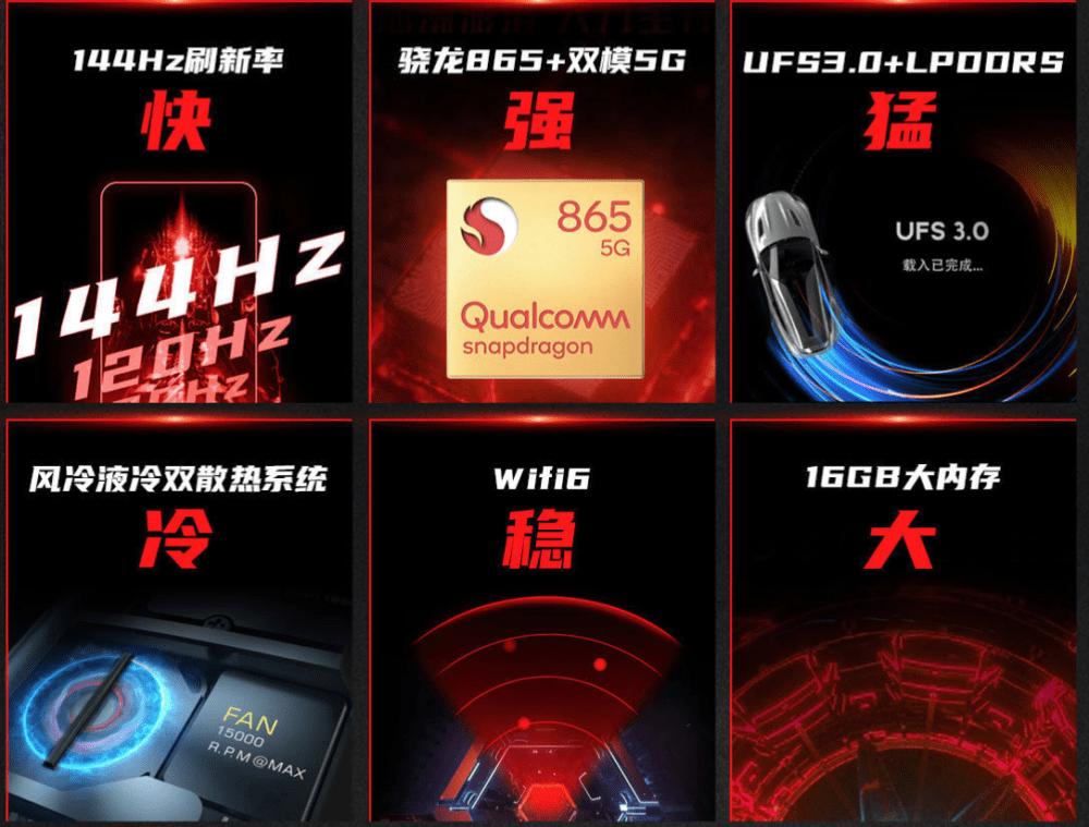 Nubia Red Magic 5G, un smartphone gamer con gatillos, 16GB de RAM y pantalla a 144Hz 1