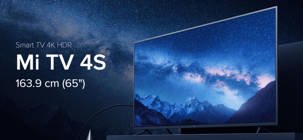 El Xiaomi Mi TV 4S de 65 pulgadas llega a España 1