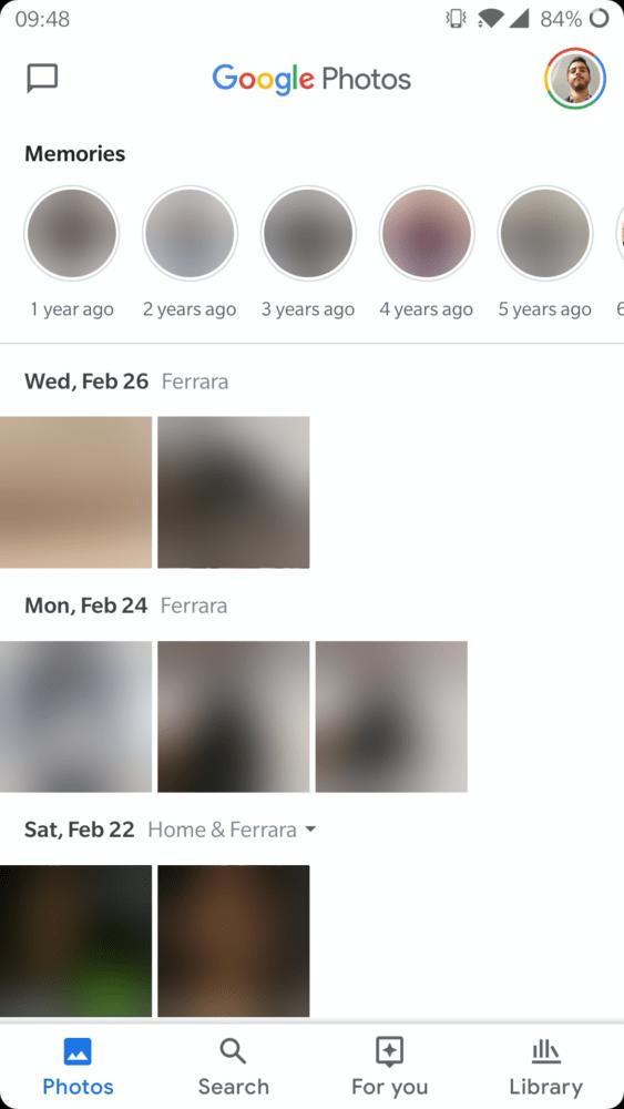 Google Fotos, ya tenemos un adelanto de su nueva interfaz 4