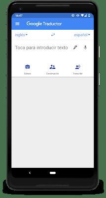Ya puedes usar el Traductor de Google para transcribir conversaciones al instante