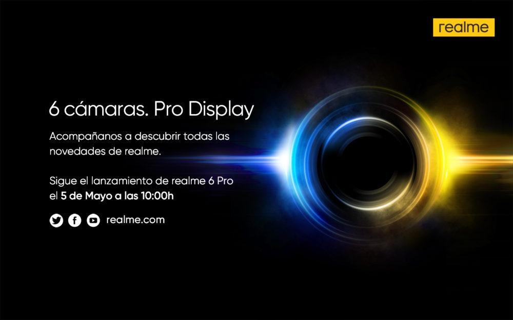 El Realme 6 Pro será presentado el 5 de Mayo