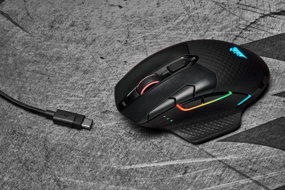Corsair presenta sus nuevos ratones inalámbricos Dark Core RGB Pro y Pro SE 1