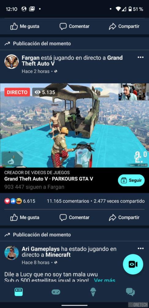Facebook Gaming, la app para gamers que quiere competir con Twitch y Mixer 5