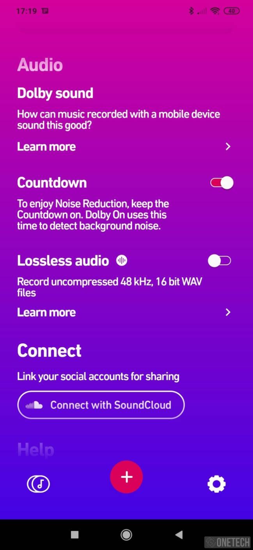 Dolby On, grabación con el mejor sonido. Disponible para Android e iOS 5