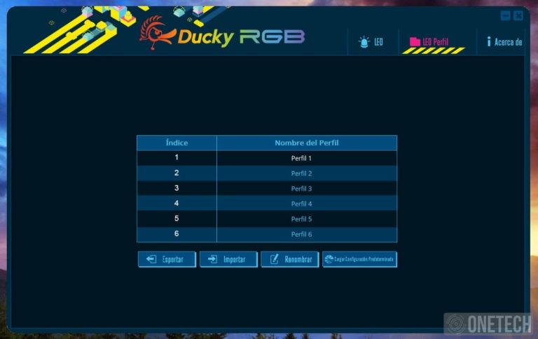 Ducky One 2 RGB, un completo teclado para cualquier situación 3