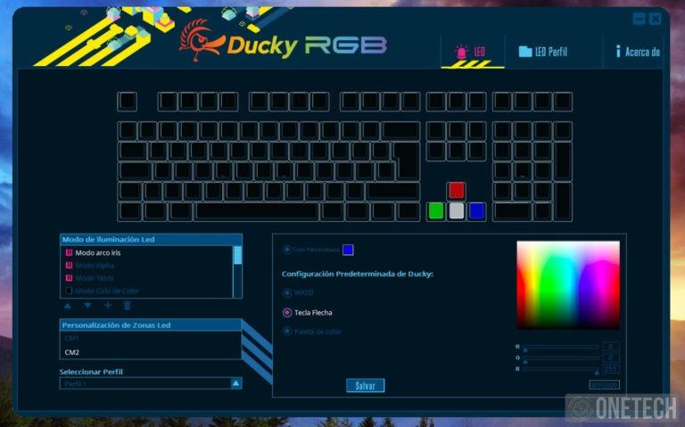 Ducky One 2 RGB, un completo teclado para cualquier situación 4