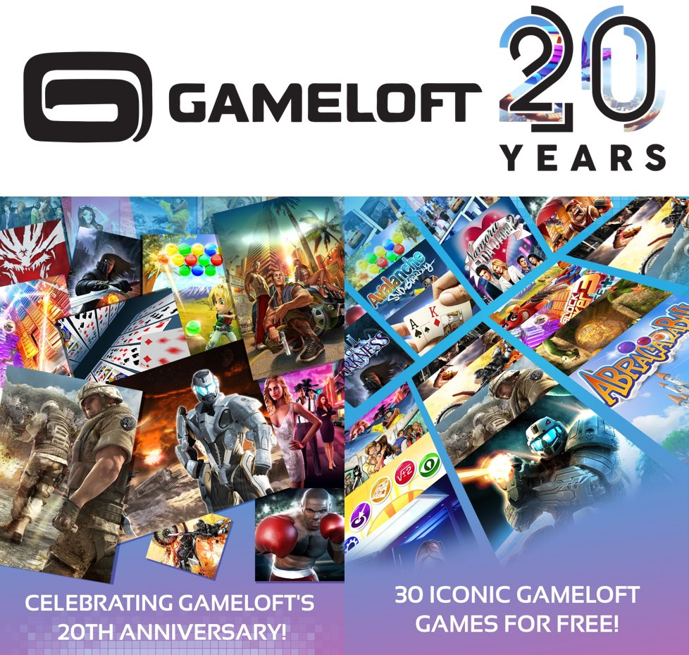 Gameloft Classics: 20 años
