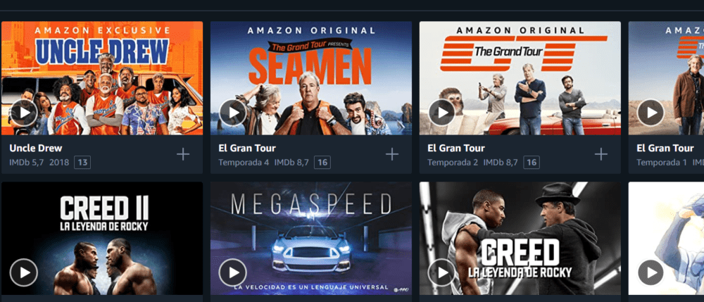 Amazon Prime video celebra el día del deporte