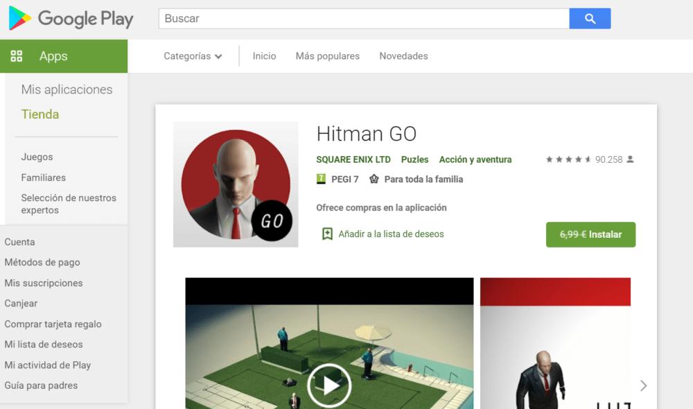 Aprovecha y descarga Hitman Go, gratis por tiempo limitado 1