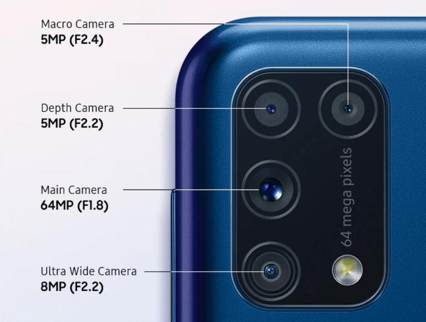 El Samsung Galaxy M31 llega a España con cámara de 64 MP y batería de 6.000 mAh 1