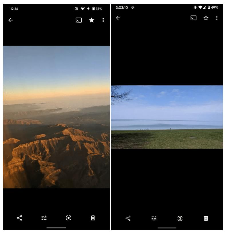 Lens muestra un nuevo icono en Google Fotos