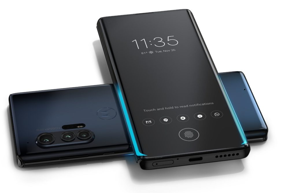 Nuevos Motorola Edge y Motorola Edge+, el regreso a la gama alta llega con cámara de 108MP 1