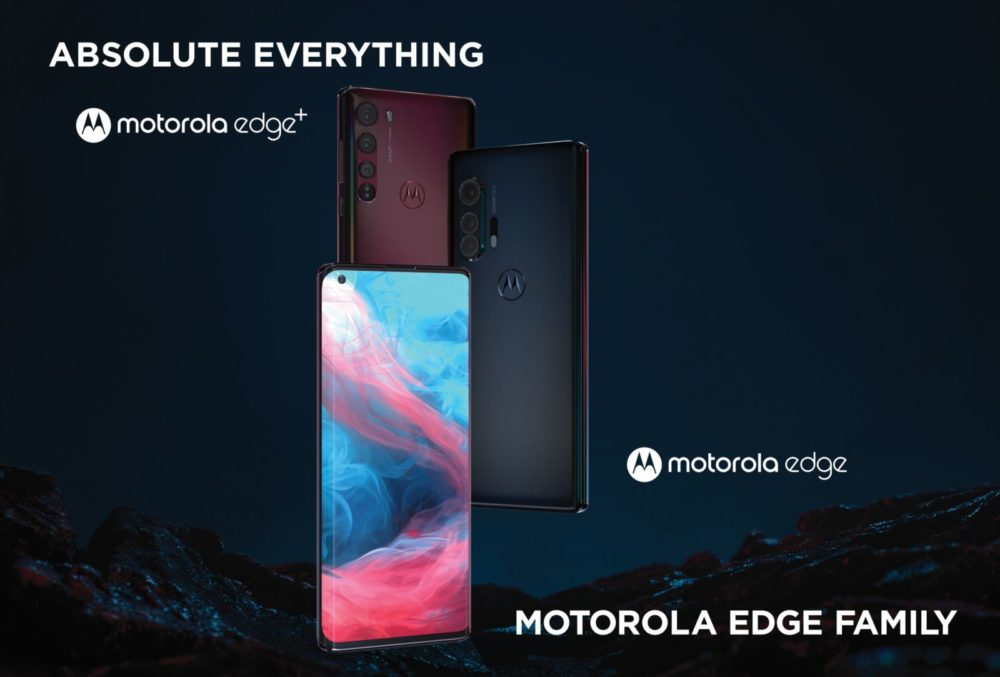 Motorola Edge y Motorola Edge+