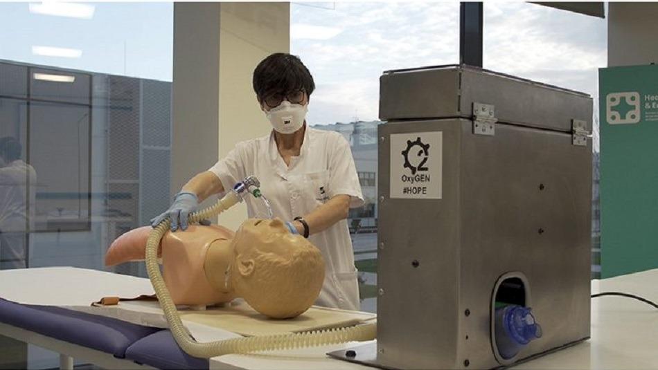 Seat comienza la fabricación de los respiradores OxyGEN