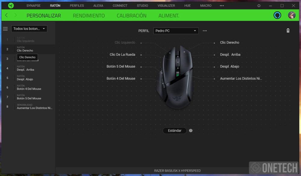 Basilisk X Hyperspeed, análisis del nuevo ratón inalámbrico de Razer 4