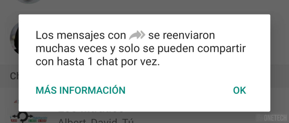 WhatsApp limite